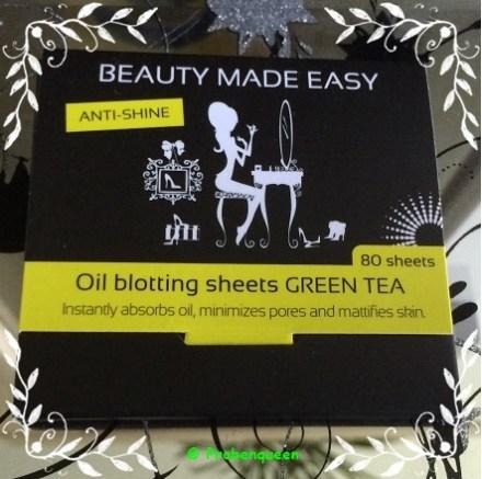 Beauty made Easy Paper geschlossen Probenqueen