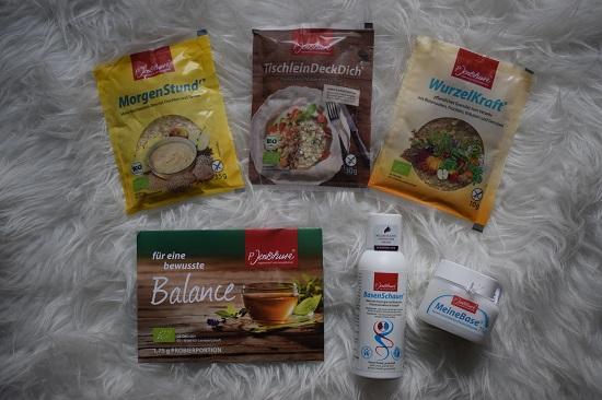 Wohlfühlen mit P. Jentschura Produktvorstellung Probierpaket Probenqueen