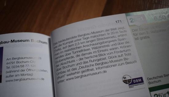 Gutscheinbuch Bochum & Umgebung Gutschein Deutsches Bergbaumuseum Probenqueen