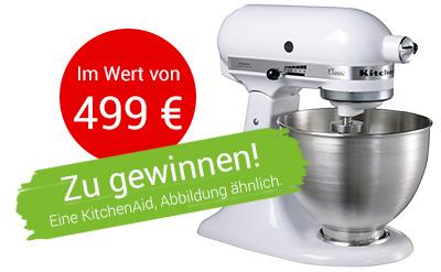 Produkttester für Milkana Käsedreiecke Gewinnphoto KitchenAid Probenqueen