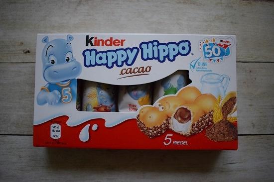 Brandnooz Box Januar 2018 Kinder Happy Hippo Cacao Probenqueen