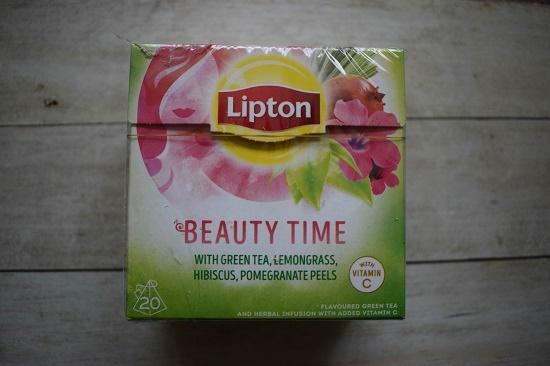 Brandnooz Box Januar 2018 Lipton Beauty Time Tee Probenqueen