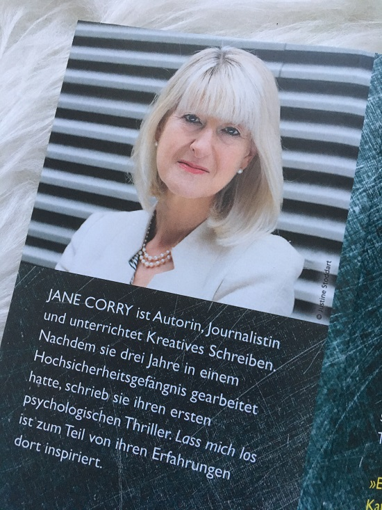 Lass mich los Autorenfoto im Taschenbuch Jane Corry