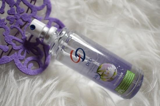 CD Deo Wasserlilie Reisemini Pumpspray Probenqueen