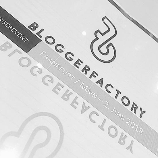 Bloggerfactory Event www.probenqueen.de Eventunterlagen mit Logo