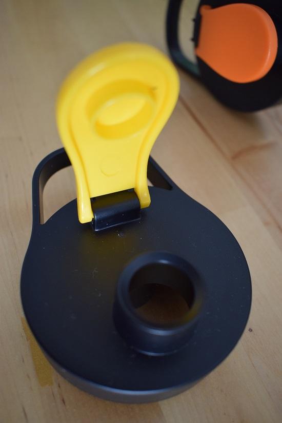 AEG Mini Mixer SB2700 Deckel mit gelben Verschluß für Trinkflasche www.probenqueen.de
