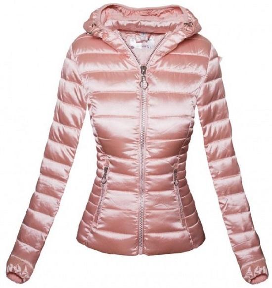 schicke Jacken von Elegrina rosafarben mit langem Arm und Kapuze www.probenqueen.de