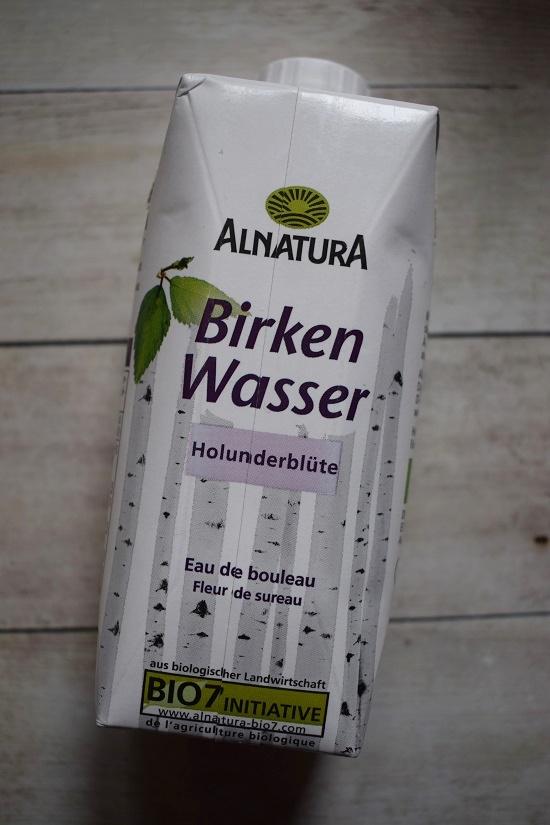 Degustabox Januar 2019 Tetrapack Alnatura Birkenwasser