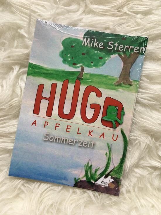 Wärme mit Hugo Frosch Büchlein Hugo Apfelklau Sommerzeit von Mike Sterren