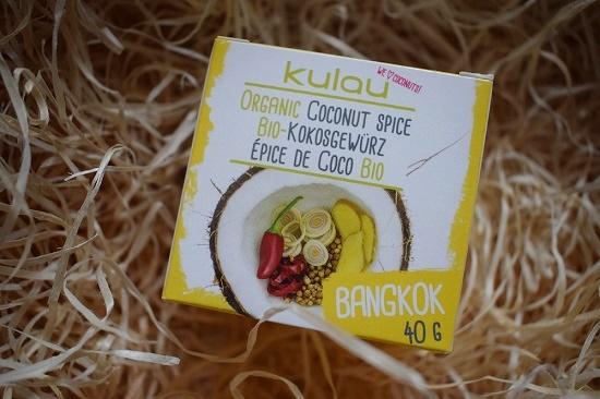 Brandnooz Genussbox Januar Kulau Bio Kokosgewürz Bangkok