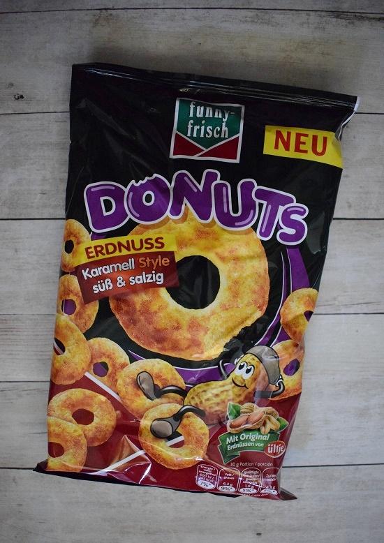 Degustabox 2019 Funny Frisch Donuts Neuheit