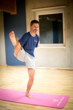 Yoga, King Kong Club, Yogastunde mit Kathi Bösenecker, Salzburg, Kingoga, 20161230, (c)wildbild