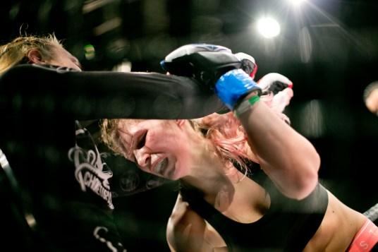 Nicole Berger, Groundfighter Salzburg, Lucie Vacova, Prag, Aggrelin, Cage Fight, Salzburg, 20171217, (c)wildbild