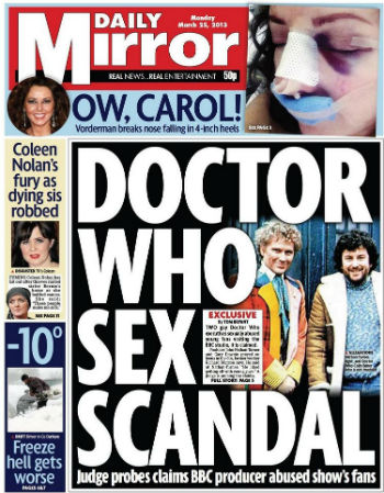 mirror colin baker JNT cover