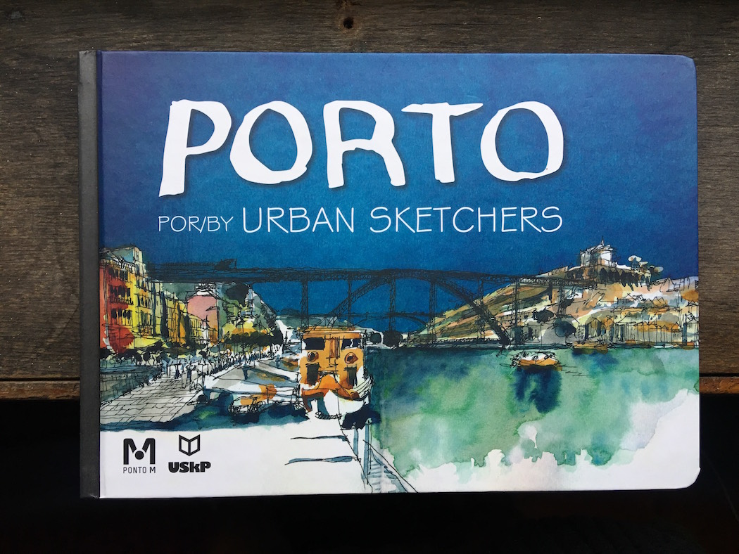 blog drawing watercolour porto oporto