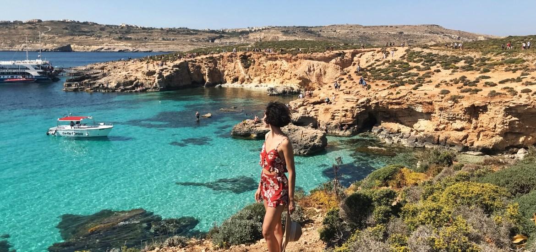 blue lagoon comino island malta ada gezi rehberi blog blogger