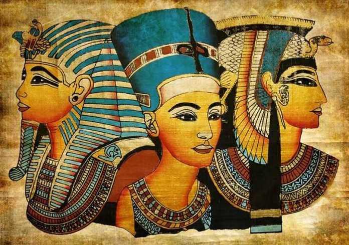 Фараоны держали волосы закрытыми