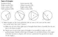 Printable Worksheets  Scalene Isosceles And Equilateral ...