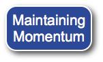 Maintaining Momentum in Blogging