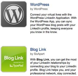 linkedin blog application