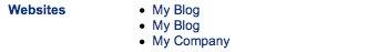 blog links