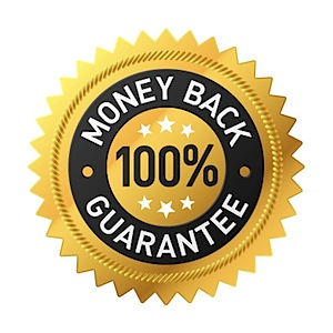 100% Money Back Guarantee!