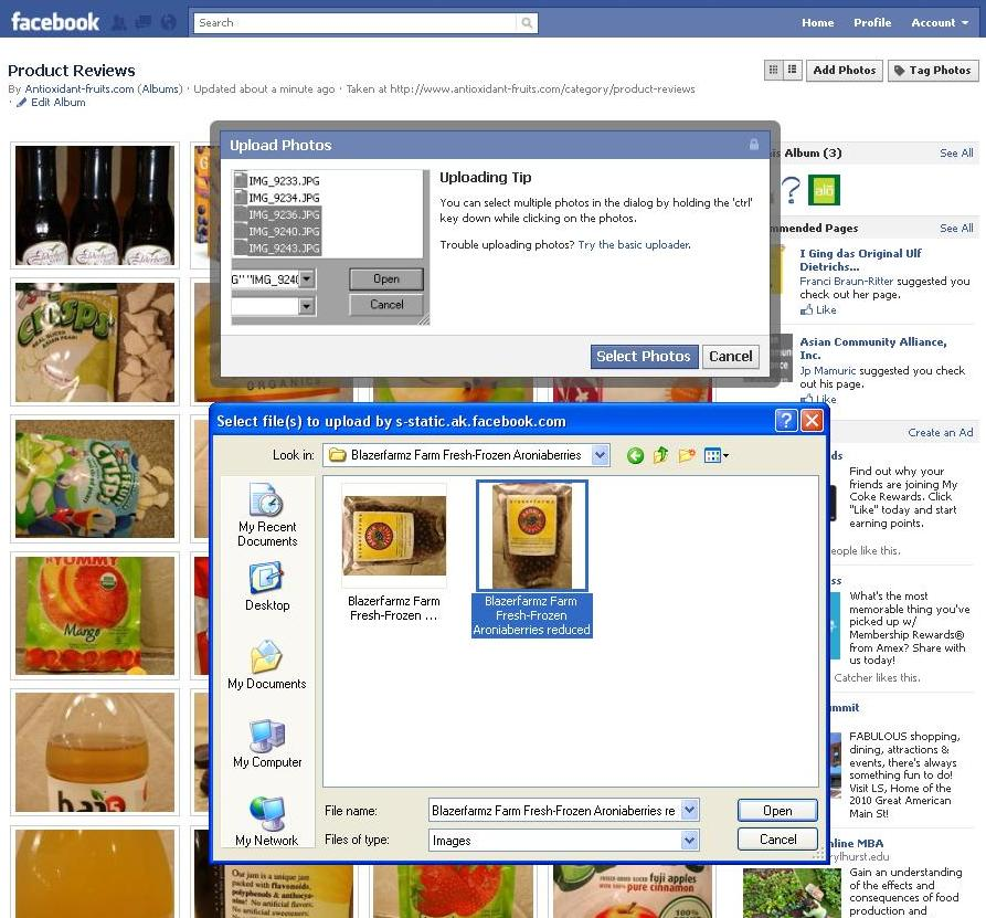 how to add reviews to my facebook page