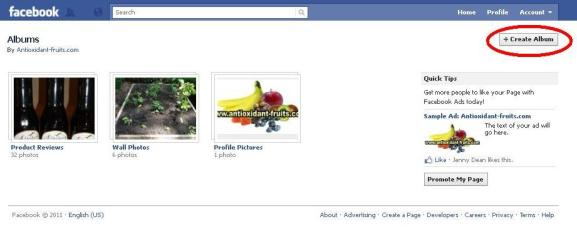 how to make a facebook album open to add