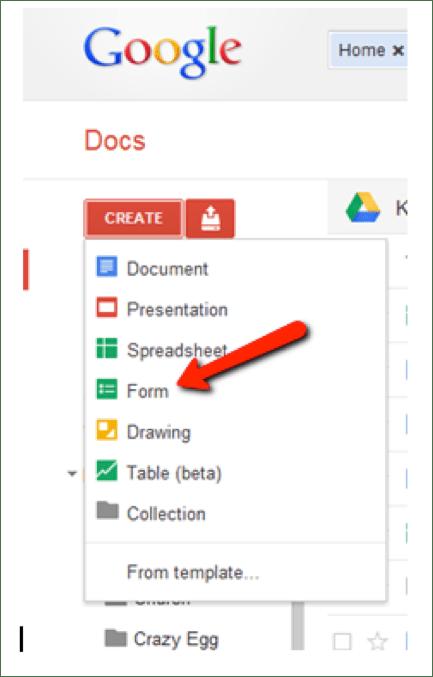 Google Docs Surveys
