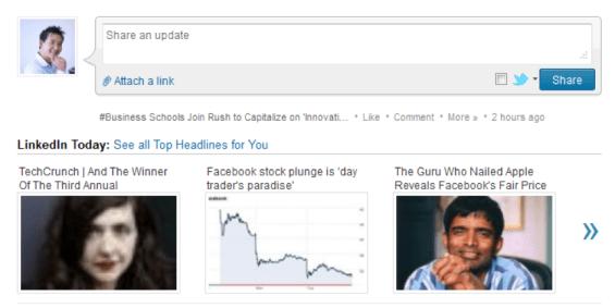 LinkedIn headlines
