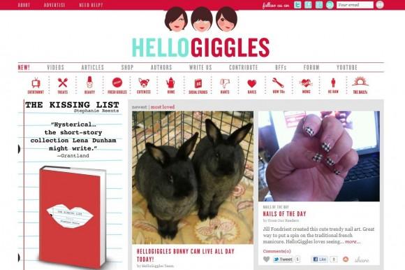 Hello Giggles blog