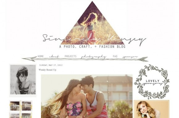 Sincerely Kinsey blog