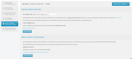 Hosted page or widget