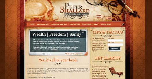 Peter Shallard's blog