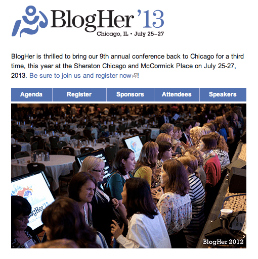 BlogHer home