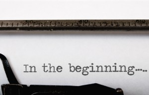 Type writer - in the beginning