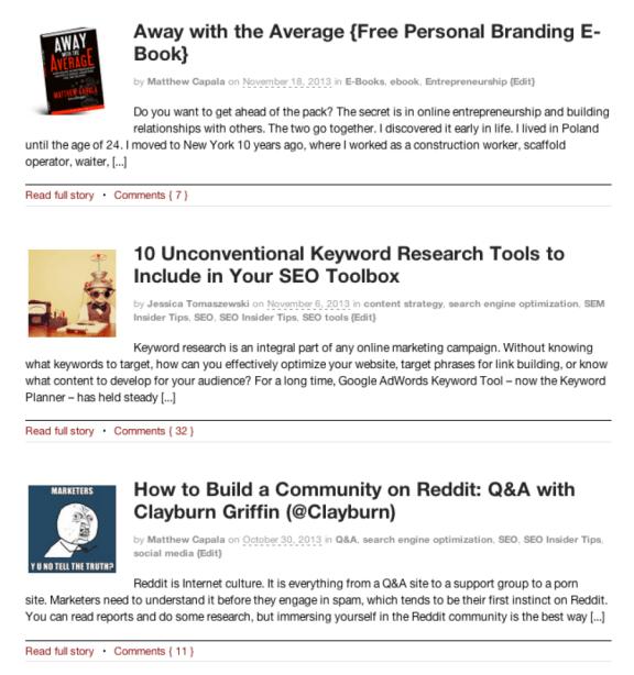 SearchDecoder blog posts 6