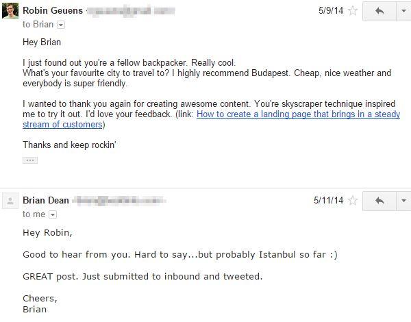 Email Brian Dean