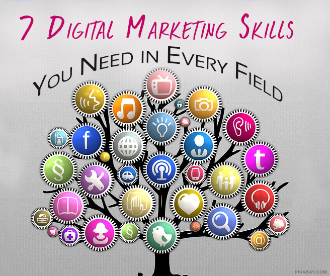 7 Digital Marketing Skills Every Professional Needs