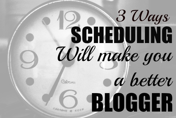 There's more things to do with a blog than there is hours in the day. These tips will help you schedule like a pro and get your life back.