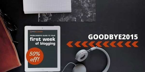 First Week of Blogging eBook