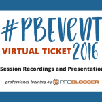 Attend the ProBlogger Training Event From the Comfort of Your Home with Our Virtual Ticket