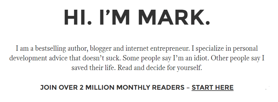 The subtle art of successful blogging - an interview with NYT Bestseller Mark Manson