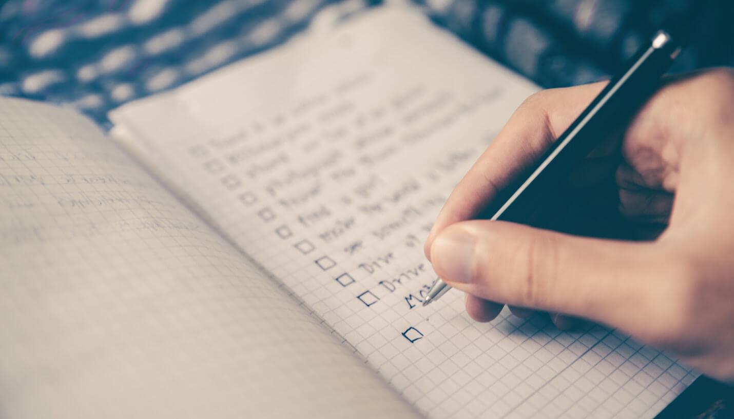 Menyusun jadwal rutinitas harian agar jadwal lebih produktif