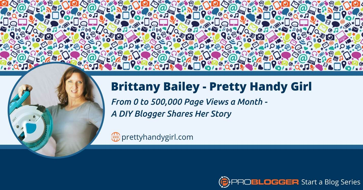 221: From 0 to 500,000 Page Views a Month - A DIY Blogger Shares Her Story