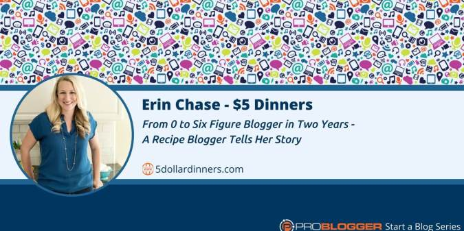 Recipe blogger becomes six-figure blogger in two years