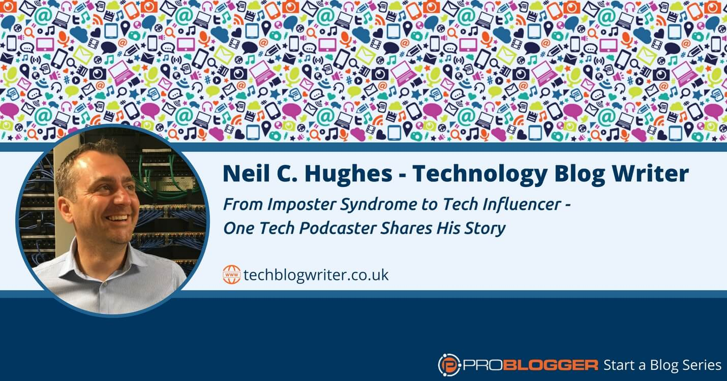 A tech podcaster tells his story