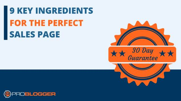 9 key ingredients for the perfect sales page