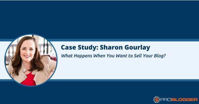Sell your blog case study