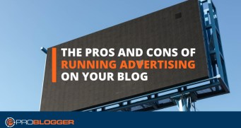 Running ads on your blog